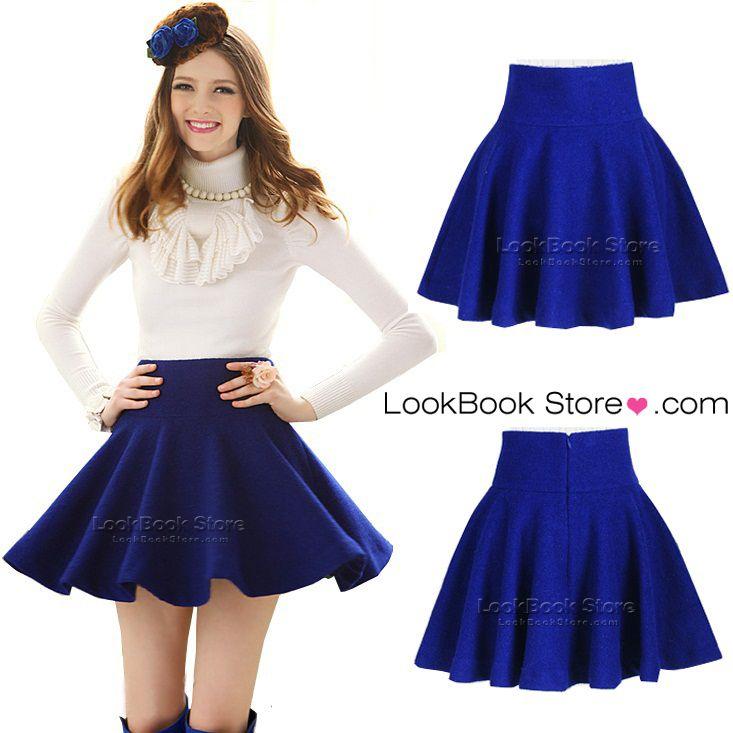 13 best images about Flaredskirts on Pinterest | Mini skirt, Black ...