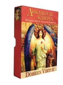 Doreen Virtue 44 lapos kártyacsomagjából megismerkedhetünk az arkangyalokkal, üzeneteik révén megidézhetjük őket, és választ kaphatunk az életünket érintő fontos kérdéseinkre. A dobozban található útmutató segítségével önmagunknak és másoknak is jósolhatunk.