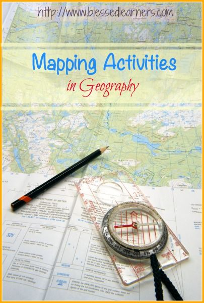 Mapping Activities in Geography - Blessed Learners - Our Journey of Learning