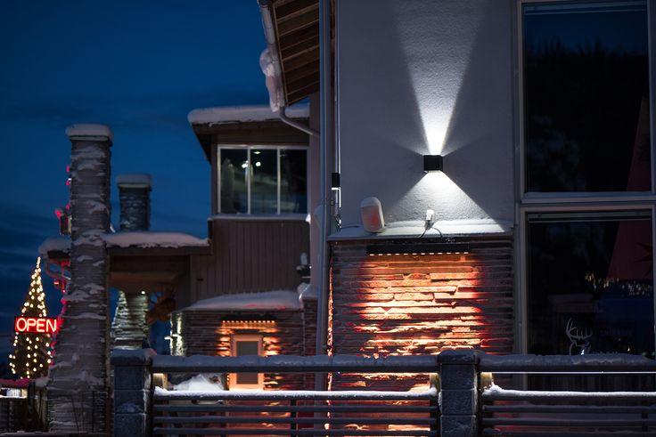 Even though there is -30c outside, our Hydra LED-lights can handle the freezing cold weather!  Vaikka ulkona on -30 astetta pakkasta, niin meidän Hydra LED-valaisimet kestävät kylmän sään!