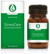 Kiwiherb StressCare Helps resist stress, ease tension & replenish energy levels & vitality.