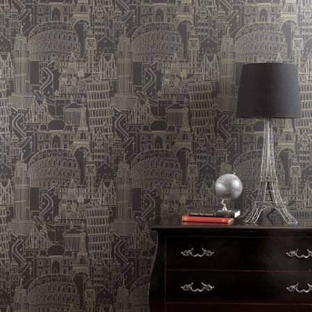 Clarke and Clarke Wallpaper - 'Showstoppers' at Studio Interiors