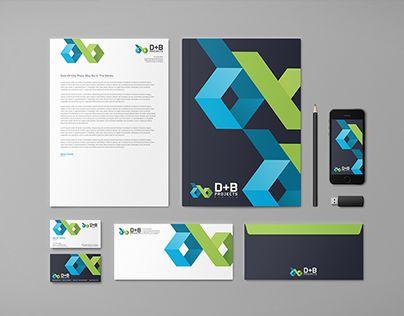"""다음 @Behance 프로젝트 확인: """"B+D Projects branding design"""" https://www.behance.net/gallery/28291621/BD-Projects-branding-design"""