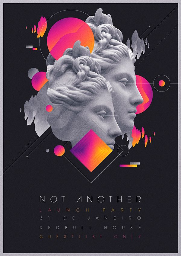 Not Another Launch Party Flyer Artwork on Behance