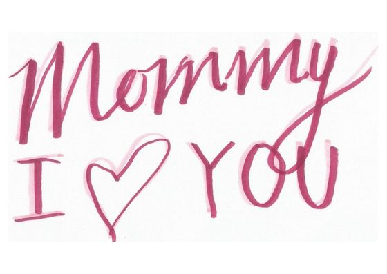Mothers Day Cards | Set of 6 | under $1 | Mommy, I heart you | Printable | Digital card | Pink & White colours