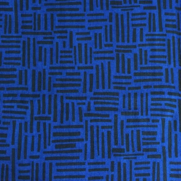 Matchsticks in blue