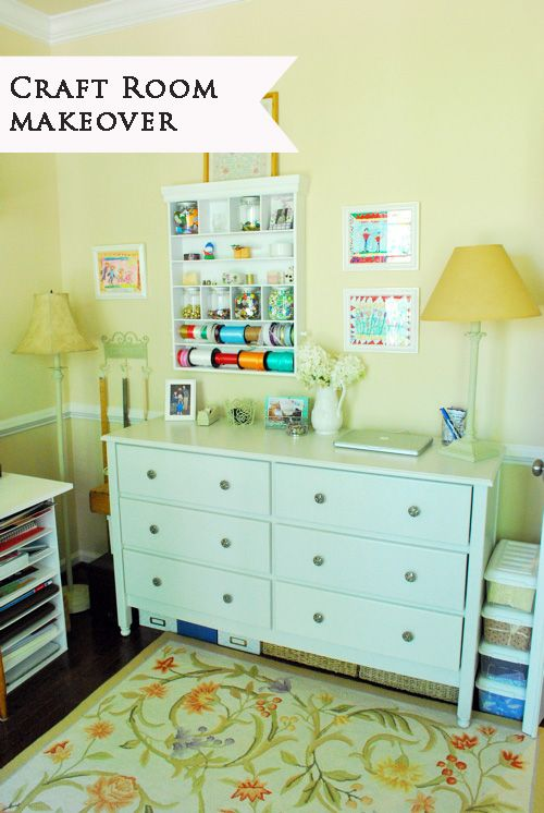 218 best images about craft rooms work stations on for Storage solutions for craft rooms