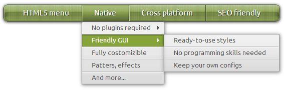 CSS menu maker, html5 menu, web development, web design, drop down menu