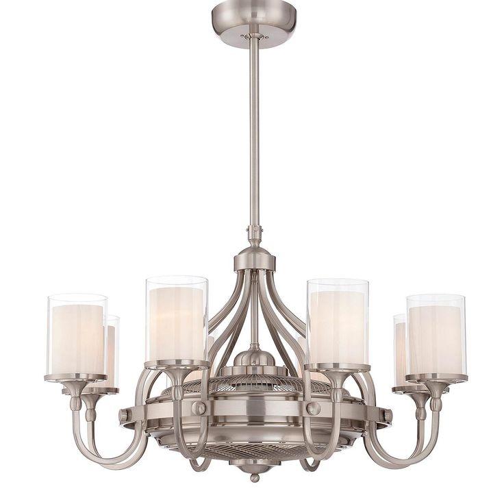 35 contemporary chandelier ceiling fan