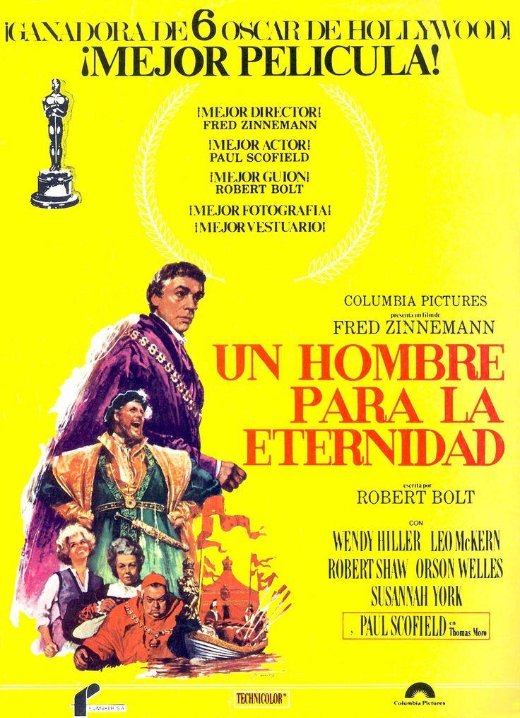 1966. Un hombre para la eternidad - A Man for All Seasons