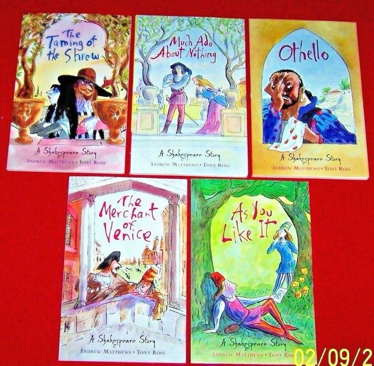 5 A SHAKESPEARE STORY Paperback Books Andrew Matthews Classics for Children
