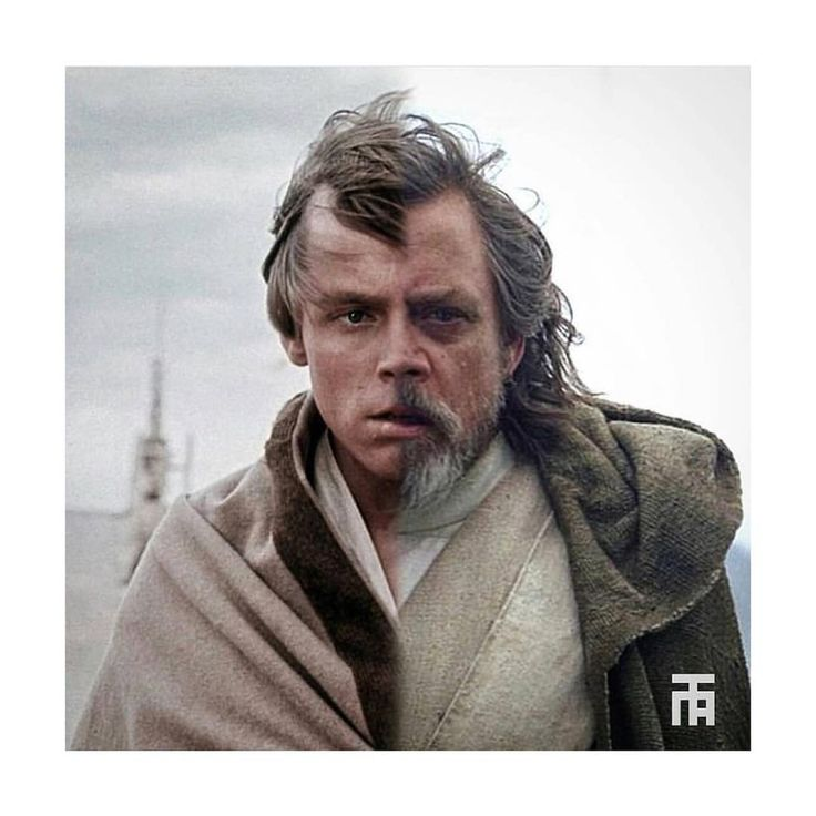 Young & older Luke Skywalker | Star Wars: The Last Jedi | #starwars #starwarsart #starwarsfanart #lukeskywalker #thelastjedi #markhamill
