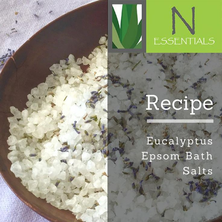 Want a nice warm bath recipe to dip into after a cold winter workout? Eucalyptus oil is the perfect way to help with those nasty winter chills whilst the Epsom salts help relieve tired muscles. Combined with eucalyptus oil, dried herbs/flowers and other essential oils, your body and mind will thank you.