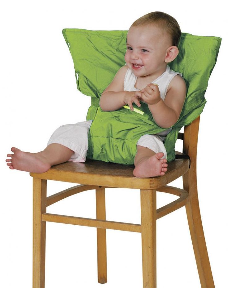 Sack'n Seat. Perfecto para viajar. Una trona de tela que cabe en el bolsillo.