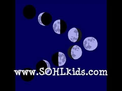Phases of the moon rock