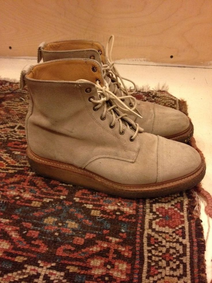 Our Legacy Boots US8 Opening Ceremony Acne Visvim Mark McNairy Tres Bien Shop in Vêtements, accessoires, Hommes: chaussures, Chaussures décontractées | eBay