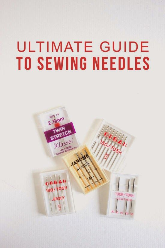 Sewing | ultimate guide to sewing needles |Randomly Happy DIY | making sewing simple and easy