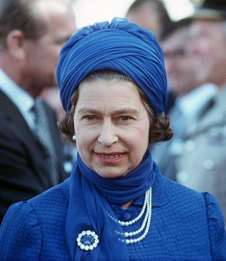 Queen Elizabeth, February 17, 1979 in Frederick Fox