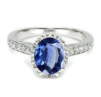Sapphire Kate Middleton look-alike engagement ring.