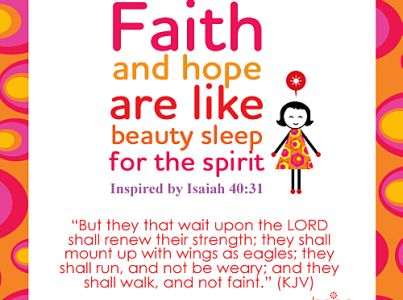 Hope Quote by Inspired by Isaiah 40:31 (KJV) – Inspirational