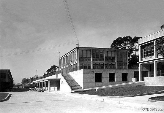 Fernand Pouillon, Saint-Menet près de Marseille, Usine Nestlé 1949-1952  [www.fernandpouillon.com]