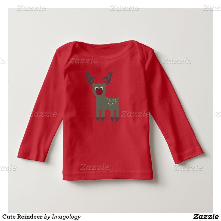 Cute Reindeer Tshirt
