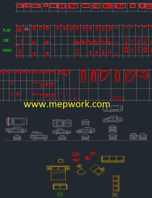 Plumbing Fixtures AutoCAD Blocks Free Download | Plumbing