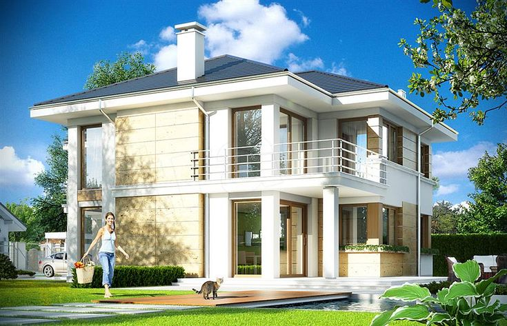 Two Storey Home in Contemporary Style 2