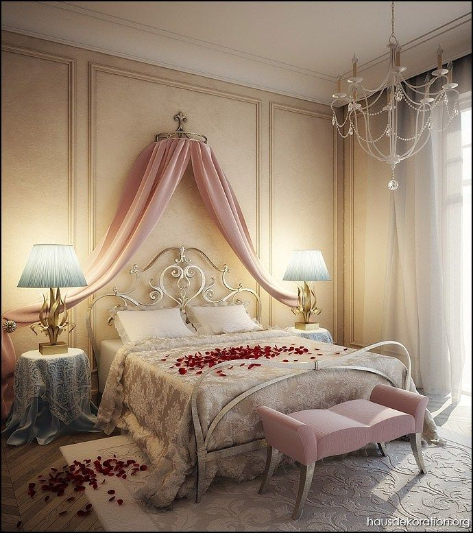 Die besten 25+ Romantische schlafzimmer Ideen auf Pinterest ...