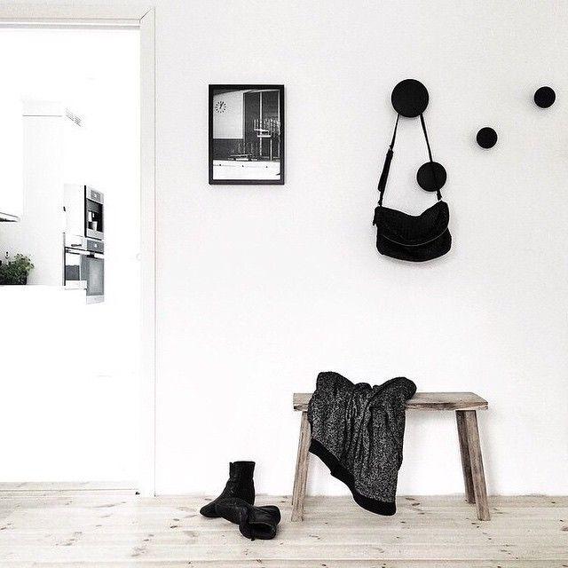 The 'Berlin Swim' print in the beautiful home of @funksjonelt