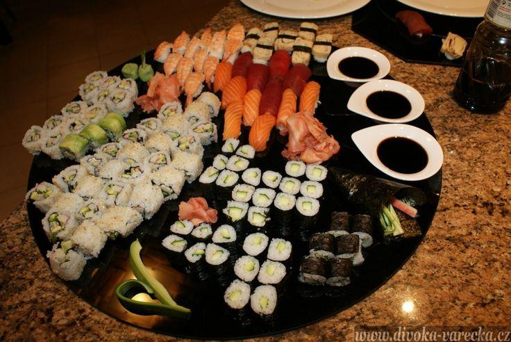 Sushi | Divoká vařečka