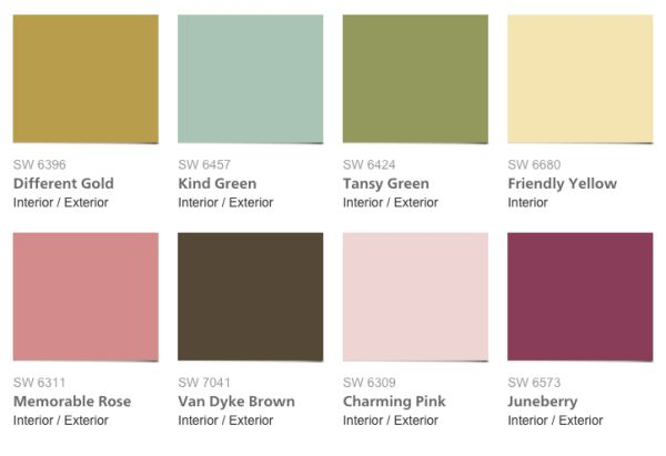 New 2016 Sherwin Williams Color Forecast Mas Amor Por