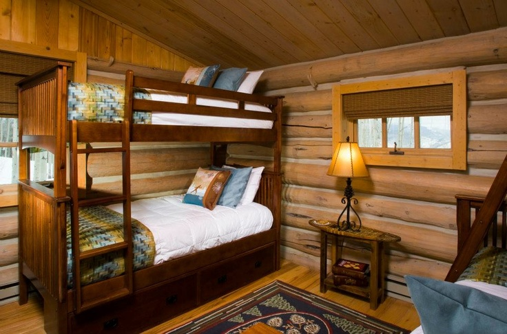 Log Cabin Kids Bedrooms 17 Best images about B...