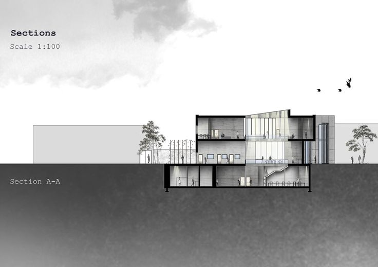 Elevation Plan Presentation : Presentation drawing sectional elevation these are