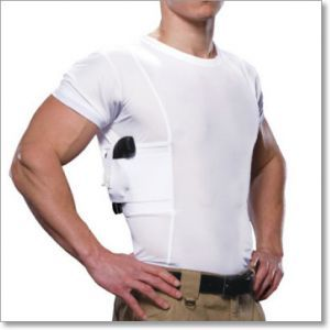 UnderTech Undercover Men's Concealed Carry Crew Neck T-Shirt