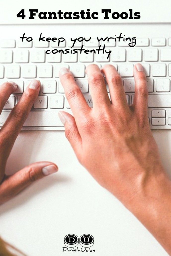 4 fantastic tools to keep you writing consistently