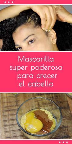 ·#mascarilla super poderosa para #crecer el #cabello #pelo #remedio #casero