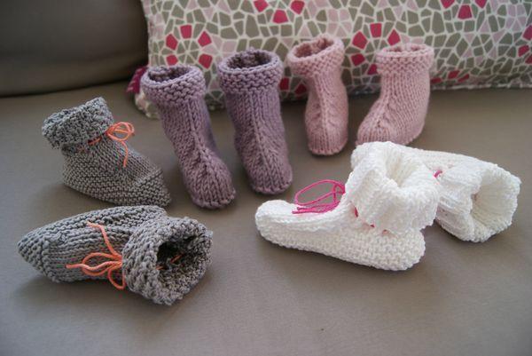 Tutos pour chaussons bébé (en français) | enfant ...