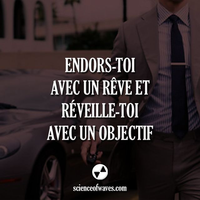 Endors-toi et avec un rêve et réveille-toi avec un objectif. With optimal health often comes clarity of thought. Click now to visit my blog for your free fitness solutions