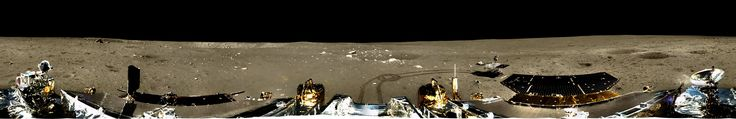 A higher-resolution version of the Chang'e 3 lander's panoramic view of the lunar surface has appeared on the Web, and artist Don Davis has cleaned it of artifacts to make a beautiful, seamless view. In other news, the mission has been reorganized to accommodate a possibly year-long adventure on the lunar surface.  (Image: Chinese Academy of Sciences / Don Davis)  | http://planetary.s3.amazonaws.com/assets/images/3-moon/2014/20140121_YUTULNDRPANDD.jpg
