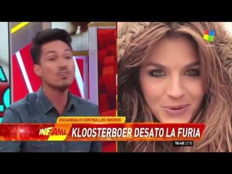 """Un periodista de Infama, indignado con Marcela Kloosterboer: """"Tiene que ..."""