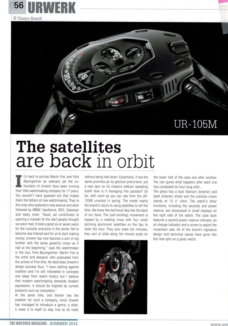 The Watches Magazine #037summer 2014 in English