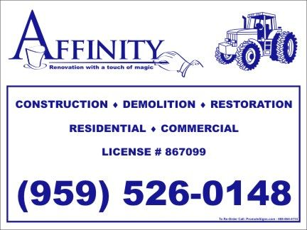 10 best images about Yard Signs for Builders and Contractors on ...
