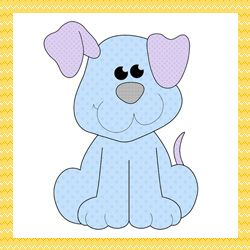 Patchwork moldes cachorrinho para patch aplique