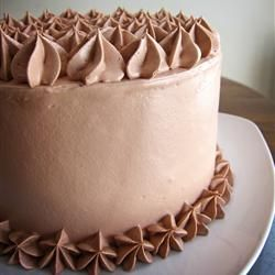 Cake Recipes With Whipped Cream Icing : 25+ best ideas about Chocolate Mousse Frosting on ...