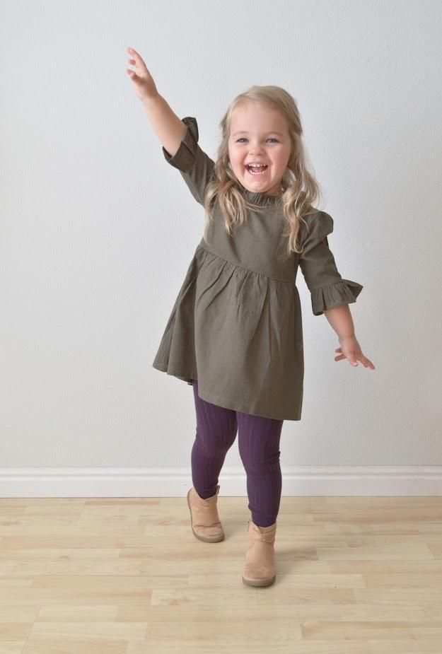 Back to school outfits for girls. 2018 fall fashion. Clothes for toddlers.