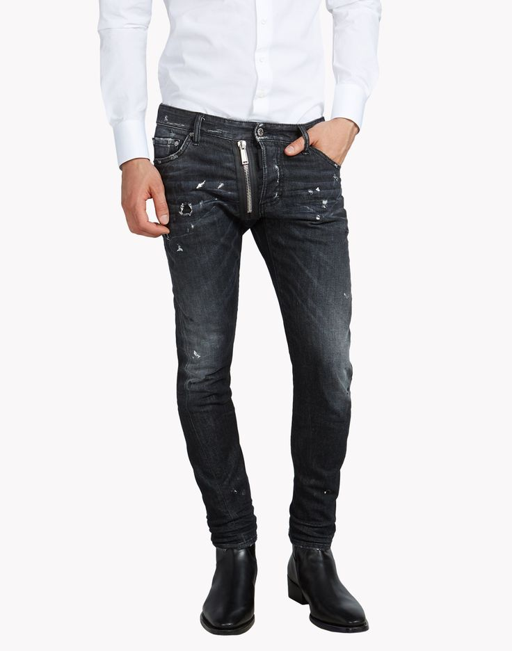 Dsquared Mb Jeans - 5 Pockets Men.