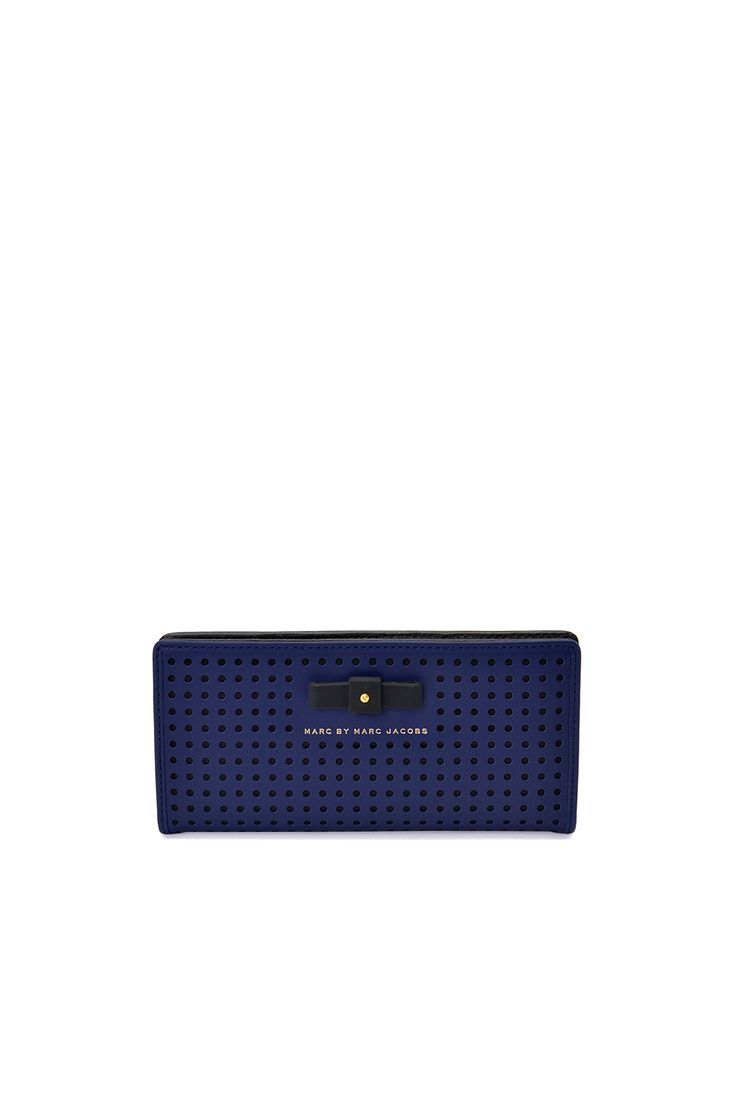 Marc Jacobs | sophisticato bow perf tomoko wallet