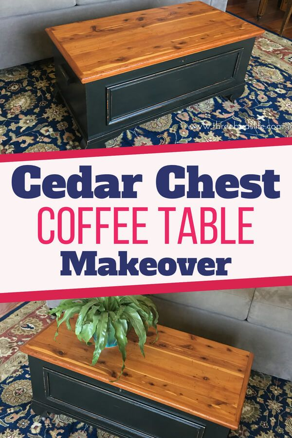 Cedar Chest Diy Makeover With Paint Diy Queen Cedar Chest Redo