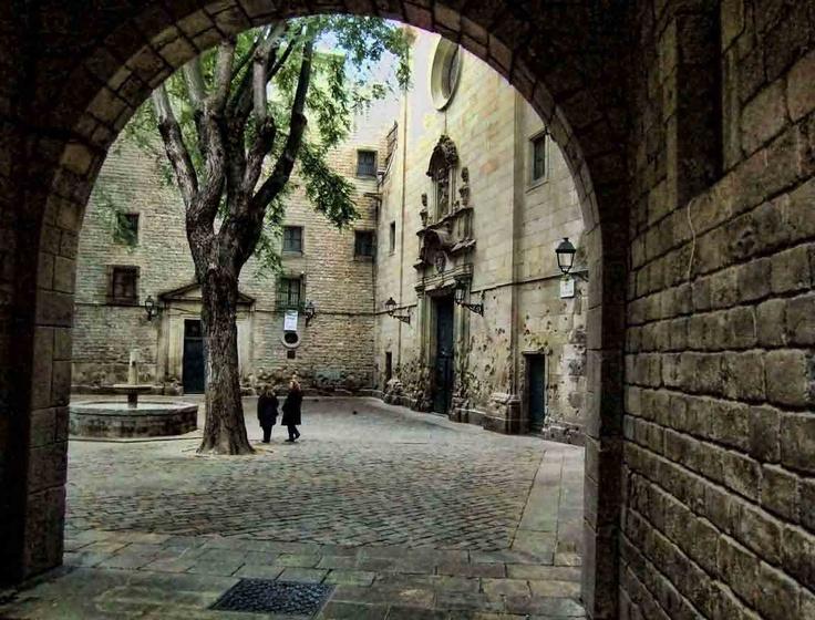 Placa Sant Felipe Neri (Square)